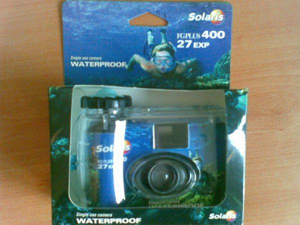 Еднократен фотоапарат за подводни снимки